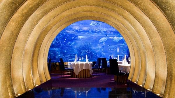 Al Mahara restaurant, Burj Al Arab