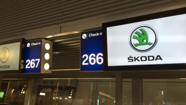 Branded Check-in Screens