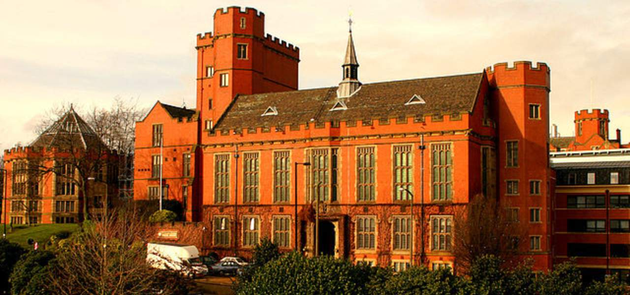 Red brick University of Sheffield Building