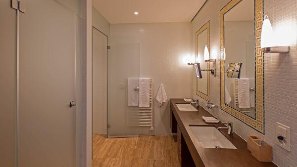 Bathroom in Apartment Cotschna