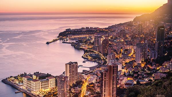 Michelin-starred dining in Monaco