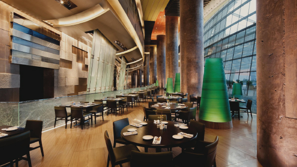 Cafe at the Aria Hotel, Las Vegas