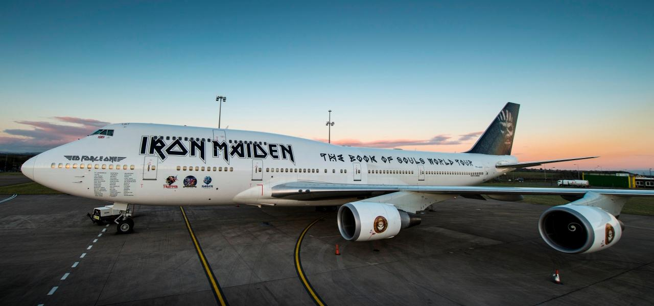 Iron Maiden's Ed Force One