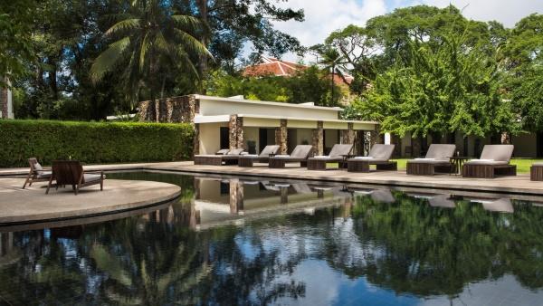 Main pool at the Amansara resort