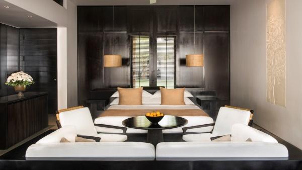 Luxurious, spacious suite at Amansara Resort