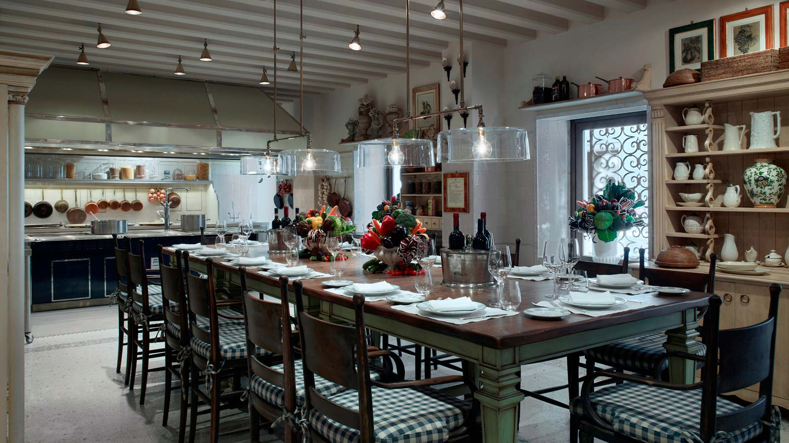 Epicurean School Chefs Table, The Gritti Palace