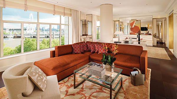 Suite at The Savoy