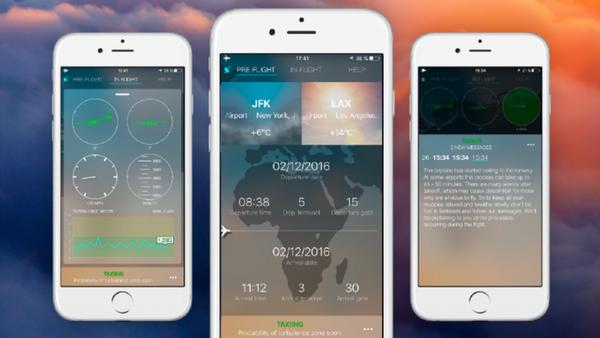 SkyGuru App for nervous fliers