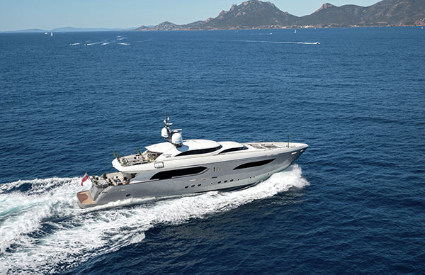 Luxury super-yacht to Monaco