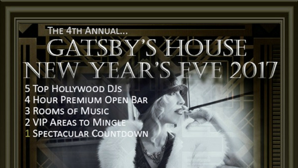 New Years Eve Parties - Gatsbys House