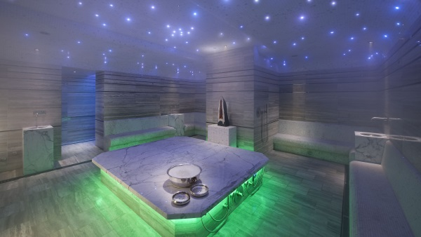 Hammam within the Mandarin Oriental spa