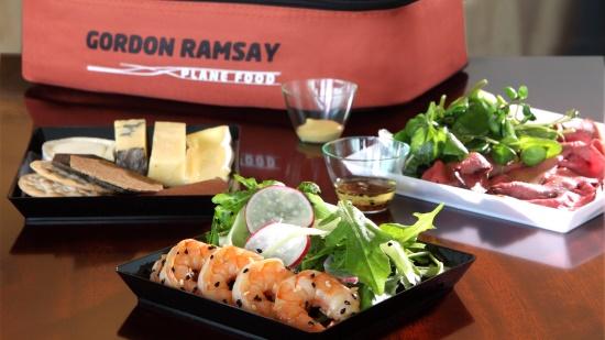 Gordon Ramsay Plane Food