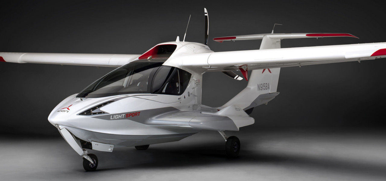 Icon A5 light sport seaplane