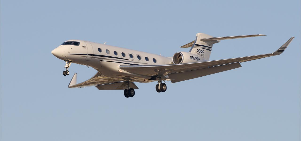 Gulfstream G650ER jet