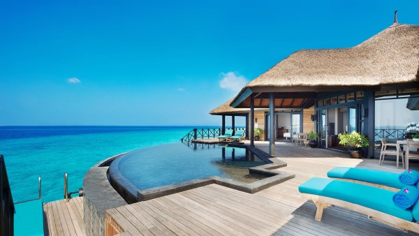 Two Bedroom Suites with Private Infinity Pool Deck