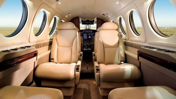 Beechcraft King Air 200 Interior