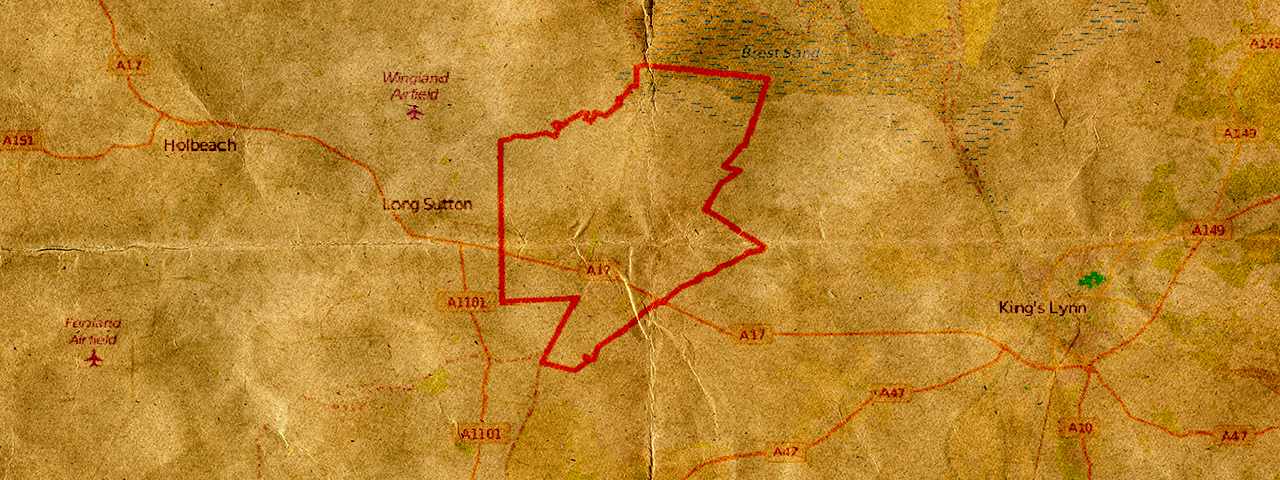 Carte du Trésor perdu du Roi Jean