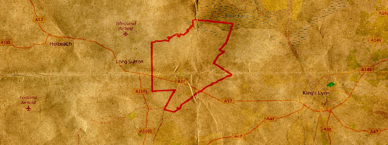 King John's Lost Treasure Map