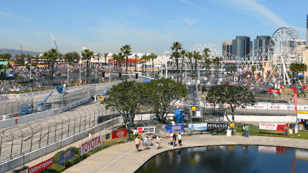 Long Beach Grand Prix Race Track