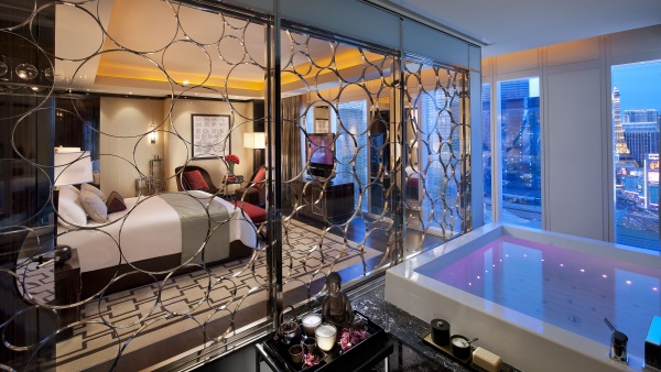 Mandarin Suite at the Mandarin Oriental, Las Vegas,