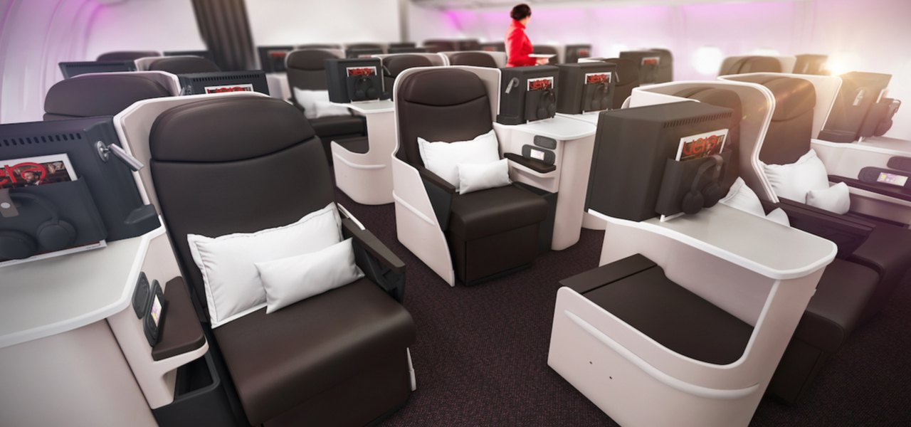 Virgin Atlantic Airbus A330 new interior