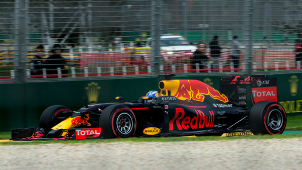 A Formula One driver from Last Years Melbourne Grand Prix