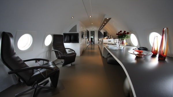 Interior of the NL Hostel Suite, Netherlands