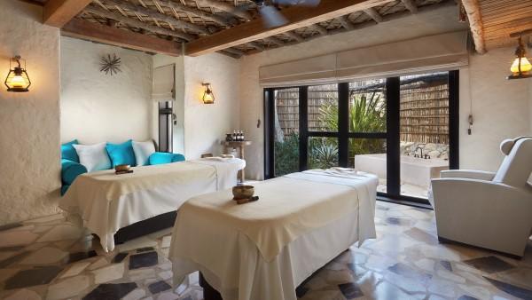 Spa Treatment Room at Six Senses Zighy Bay, Oman