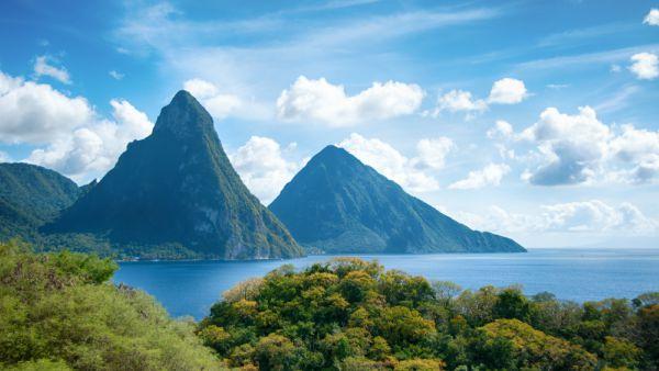 Piton Mountains - St Lucia