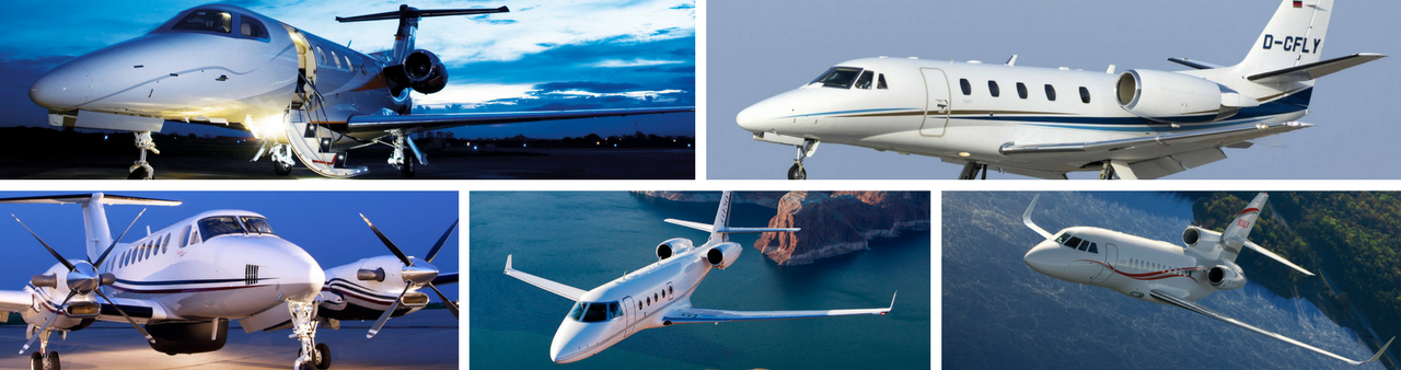 Most popular aircraft and private jets