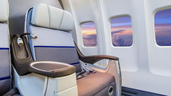Private Jet Cabin Interior