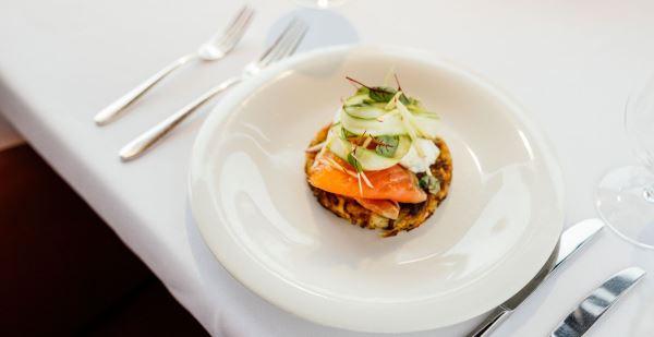 Dining at Saffire Freycinet Resort