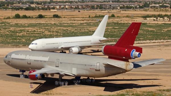 Retired planes