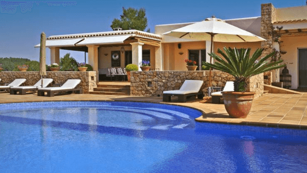 Villa Robinson, Ibiza, Spain