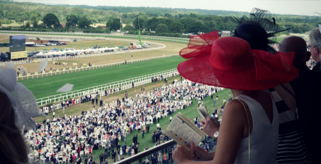 Private boxes at Royal Ascot