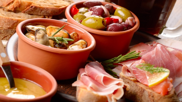 Local tapas dishes