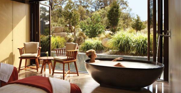Luxury spa at the Saffire Freycinet Resort