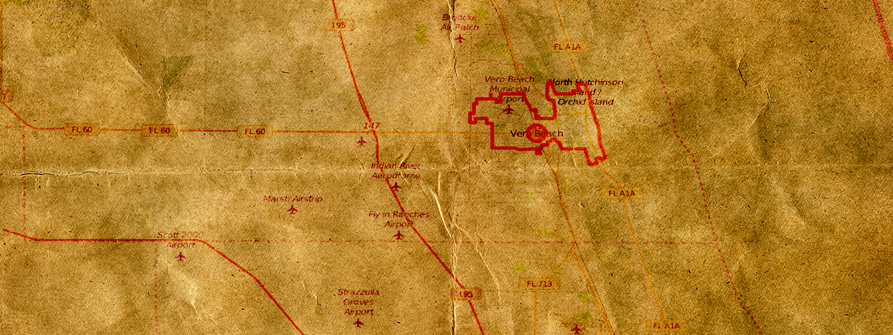 The Spanish Treasure Fleet Map