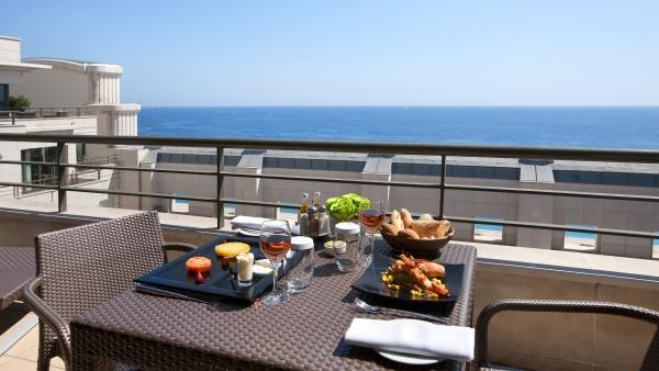 Hyatt Regency Nice Palais de la Méditerranée - Terrace dinning