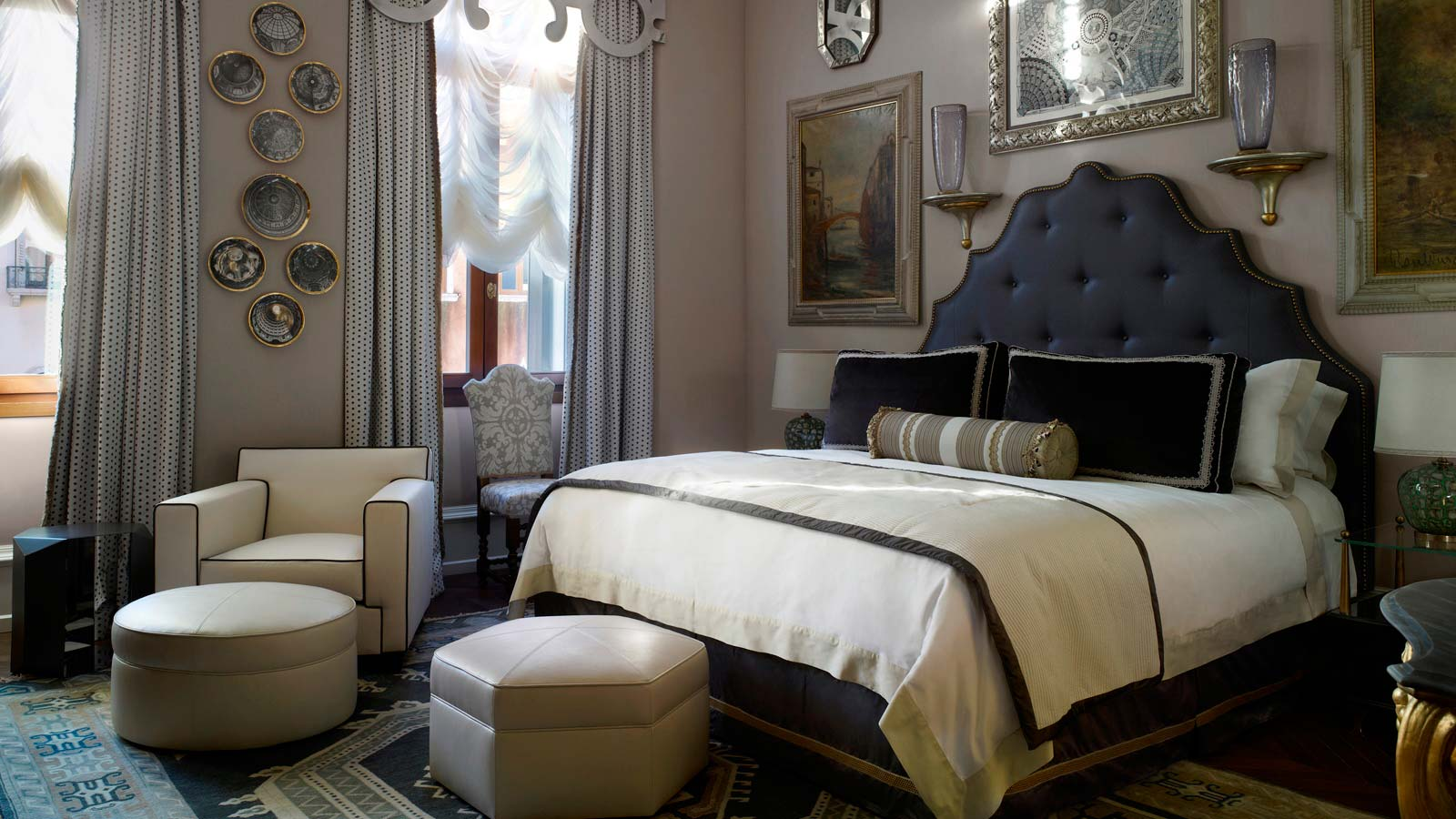 Patron Grand Canal Suite Bedroom, The Gritti Palace
