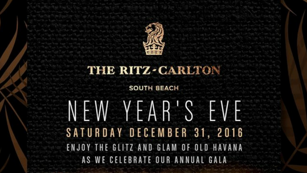 New Years Eve Parties - The Ritz