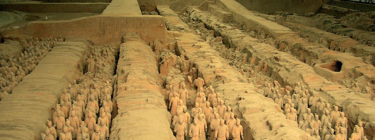 Le tombeau de Qin Shi Huang