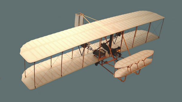 The Wright Flyer was the first ever airplane designed by the Wright brothers
