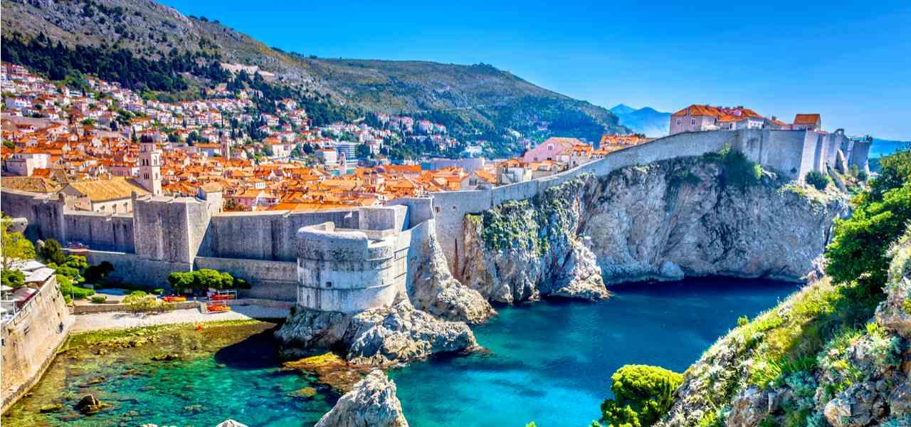 Dubrovnik is the set of King's Landing in Game of Thrones