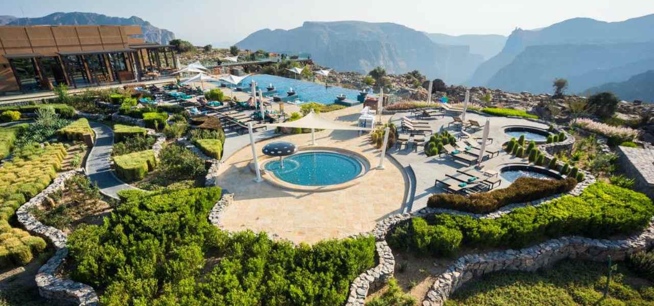 A view of Anantara Al Jabar Al Akhdar hotel
