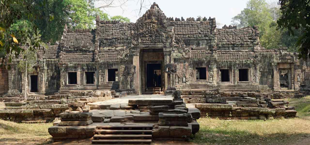 Ancient temple complex of Angkor Wat, Cambodia