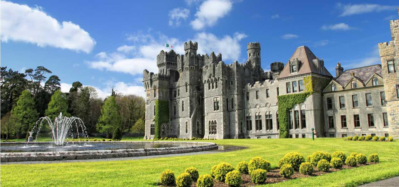 Исключительный отель, расположенный в замке Эшфорд, Ирландия