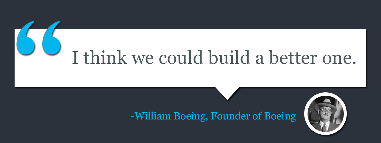 Quote by William Boeing, Founder of Boeing