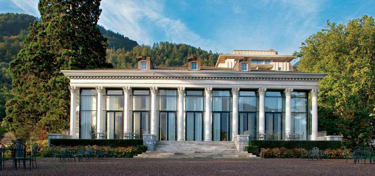 Отель Grand Resort Bad Ragaz - необычный отель, расположенный в Швейцарии