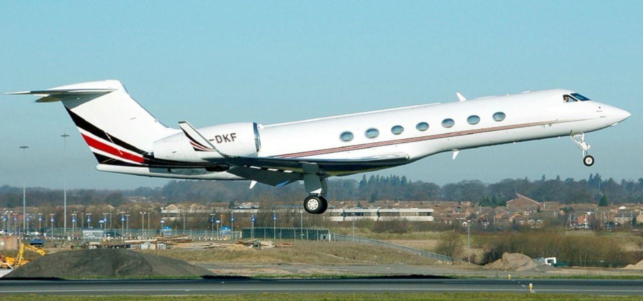 Gulfstream G6550 au décollage